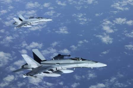 Exception faite de trois appareils, tous les CF-18 devront &ecirc;tre retir&eacute;s en 2020 pour &ecirc;tre remplac&eacute;s par des chasseurs F-35. <br />