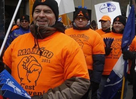 Les 780 travailleurs de Rio Tinto Alcan à Alma ont été mis en lock-out par la direction de la multinationale, le 30 décembre dernier.