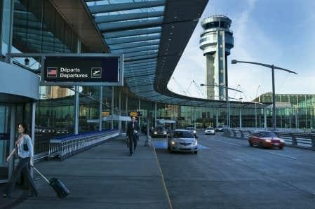 una mirada del hombre aeroports de montreal