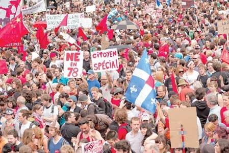 Lors des manifestations du 22 du mois ou même un soir à l'avenant, ils crient leur désaccord avec le gouvernement, dénoncent la loi spéciale ou signifient leur appui aux revendications étudiantes. Voici les manifestants.
