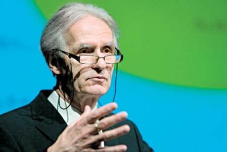 Le professeur Gérard Bouchard