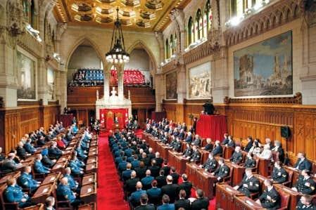 Les s nateurs se montrent peu enclins divulguer certains for Chambre des communes