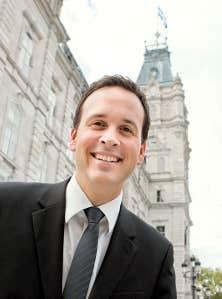 <div> Alexandre Cloutier, ministre d&eacute;l&eacute;gu&eacute; aux Affaires intergouvernementales canadiennes et &agrave; la Gouvernance souverainiste</div>