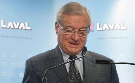 «Tout s'achète. Les politiciens ont leur prix, l'accès aux contrats aussi», affirme un entrepreneur qui aurait versé des cotisations illégales en échanges de contrats à Laval. Ci-haut, le maire Gilles Vaillancourt