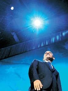 Barack Obama le soir de sa victoire