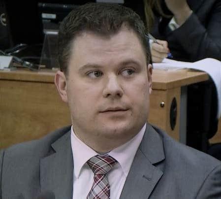 L'enquêteur de la commission Charbonneau Érick Roy