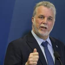 Philippe Couillard a beaucoup travaillé son ton et la simplicité de ses messages pour arriver à se faire le candidat des «vraies affaires», une expression dont le PLQ a fait le pilier de son slogan. Il entend opposer ses préoccupations aux «faux débats» du Parti québécois.