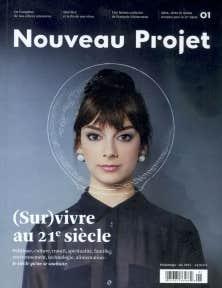 Le premier num&eacute;ro de <em>Nouveau projet</em>, publi&eacute; en 2012