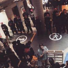 Au sous-sol du pavillon J.-A.-DeSève (DS), mercredi après-midi
