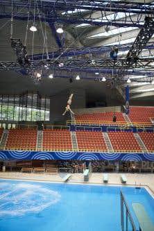 Montr al retrouve sa piscine olympique le devoir for Piscine olympique