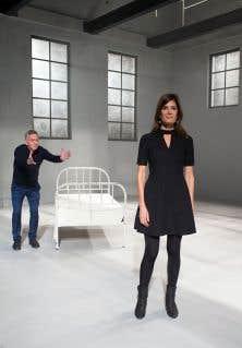 Pour Michel Marc Bouchard cette pièce, qui met en vedette Anne-Marie Cadieux, est «mon poème d'amour au théâtre».