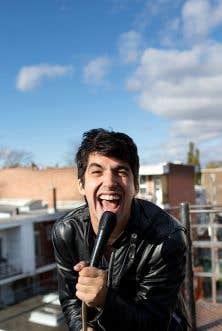 «Le spectacle, c'est comme mon bac à sable», raconte Mehdi Hamdad, qui lance son nouveau disque, Aube.