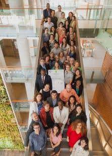 Les 40 participants de la quatrième édition de l'Université d'été sur la francophonie des Amériques en 2015
