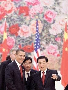 Le président américain, Barack Obama, et son homologue chinois, Hu Jintao, ont discuté du sommet de Copenhague, hier, à Pékin.