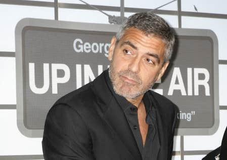 George Clooney est en lice pour le Golden Globe du meilleur acteur pour son rôle dans le film Up in the Air.