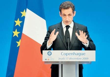 «Nous ne sommes pas ici pour un colloque sur les changements climatiques mais pour prendre des décisions», a lancé hier Nicolas Sarkozy aux 1500 délégués des 193 pays représentés à Copenhague.