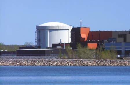 Gentilly-2, la centrale jumelle de celle de Pointe-Lepreau, au Nouveau-Brunswick, et la cousine des 20 centrales ontariennes.