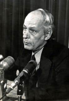 René Lévesque en 1972