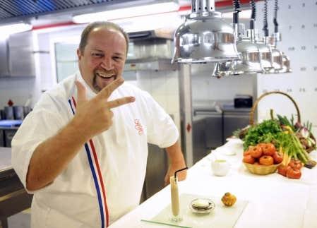 Le roi du michelin 2010 le devoir for Cuisinier 2010