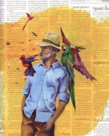 Au coeur de ce récit, le colibri devient le témoin de tous ces instants d'éternité.