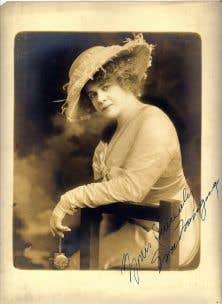 Eva Tanguay fait partie des grandes vedettes oubliées du Québec.