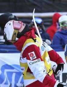 Mikaël Kingsbury, de l'équipe canadienne