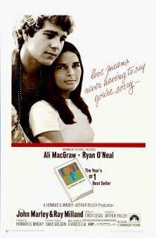 Affiche originale de «Love Story»