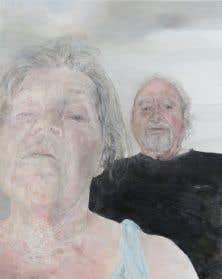 Marion Wagschal, «Hexe», 2017, acrylique sur toile