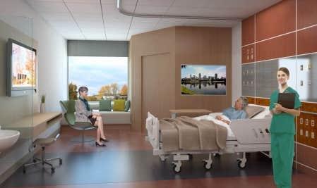 Centre universitaire de sant mcgill les unit s de soins for Chambre hopital design