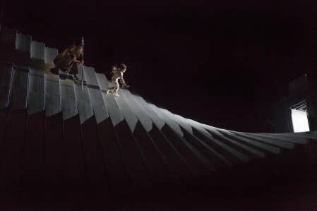 La descente de Wotan et Loge dans le monde souterrain<br />
