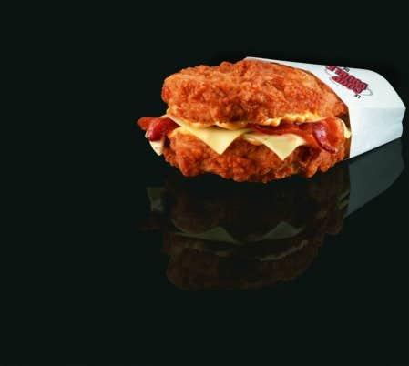 Gaufre-sandwich au poulet frit Recettes Wikibouffe