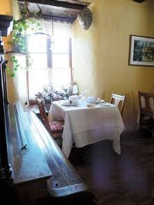 Le restaurant de l&rsquo;auberge des Glacis compte &agrave; sa carte 53 fournisseurs r&eacute;guliers, dont 47 sont situ&eacute;s tout pr&egrave;s, en Chaudi&egrave;re-Appalaches. <br />