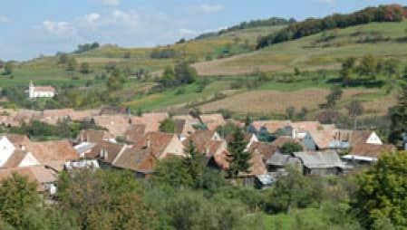 La sixième réunion des ateliers pour la mise en oeuvre de la Convention européenne du paysage s'est tenue à Sibiu, en Roumanie, en septembre dernier. Photo: Philippe Poullaouec-Gonidec