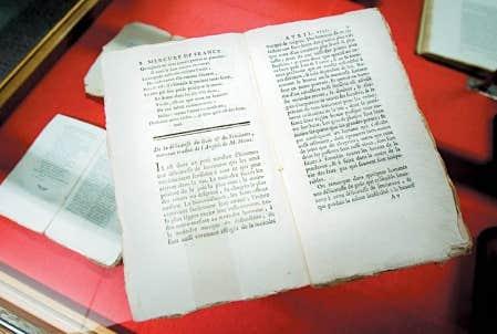On trouve dans le Mercure de France 14 textes de David Hume, entre 1756 et 1760, comptant pr&egrave;s de 200 pages.<br />