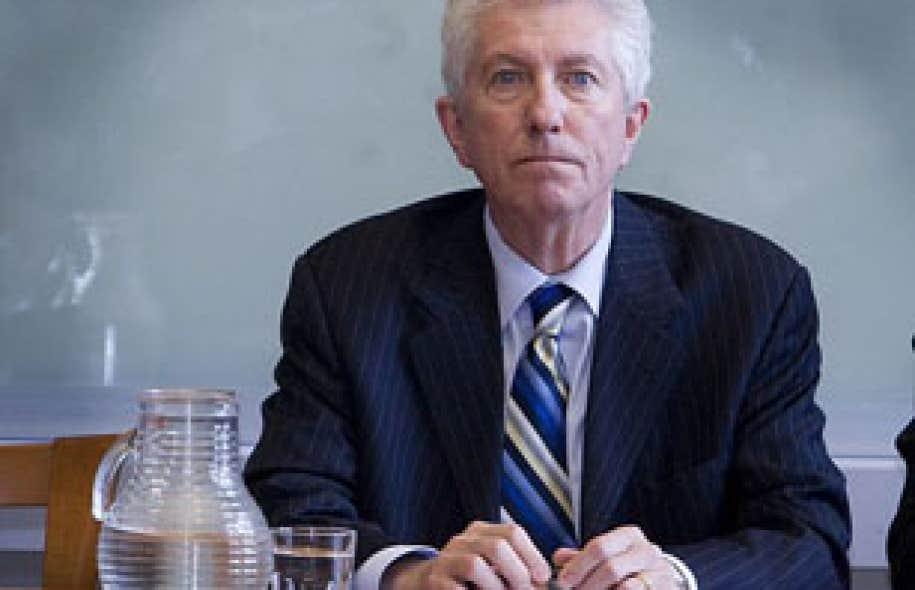 L'ex-chef bloquiste Gilles Duceppe avait été invité à parler de l'avenir du projet souverainiste par un regroupement d'étudiants du Parti québécois et d'Option nationale (ON).