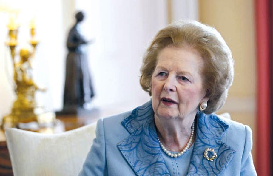 <div> Margaret Thatcher en juin 2010</div>