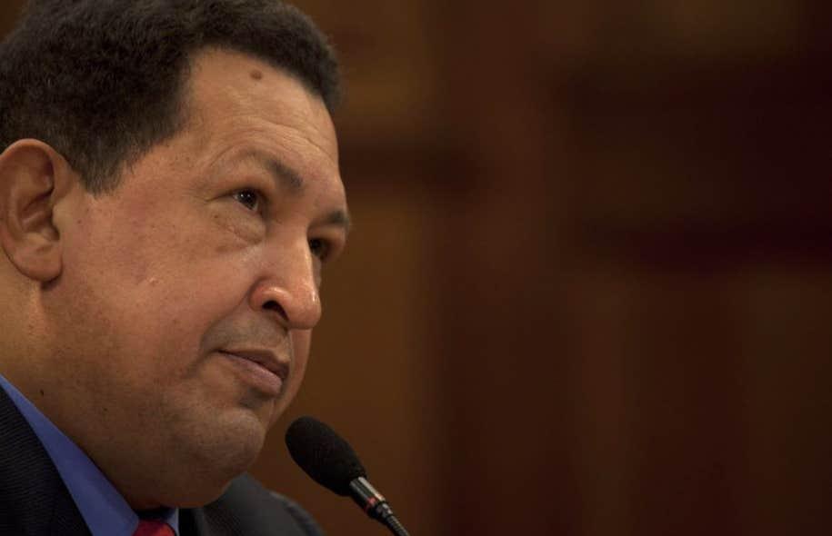 Le président du Vénézuela HugoChávez