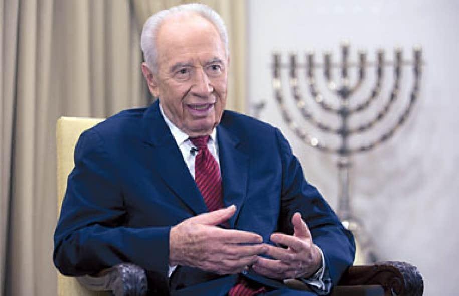 <div> Shimon Peres</div>