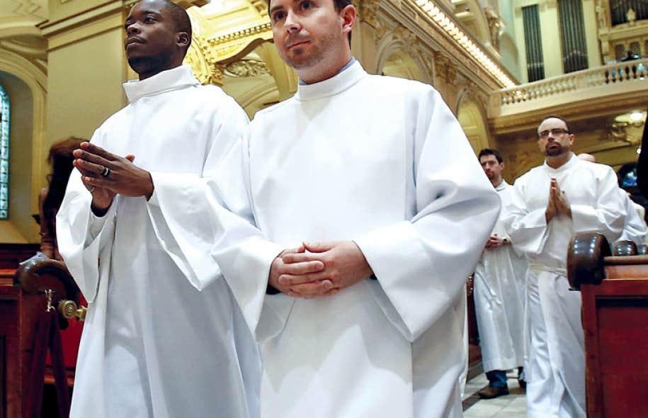 Les candidats à la prêtrise de l'est du Canada étaient réunis à la basilique Notre-Dame de Québec à l'occasion du 350e anniversaire de la fondation du Grand Séminaire de Québec.