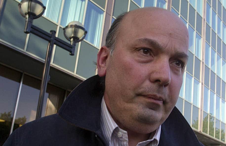 Selon l'ex-responsable des transactions immobilières à la Ville, Joseph Farinacci, Frank Zampino (ci-haut) aurait court-circuité le processus normal pour la vente des terrains du secteur Marc-Aurèle Fortin afin de favoriser le consortium Petra Saint-Luc, en 2006.