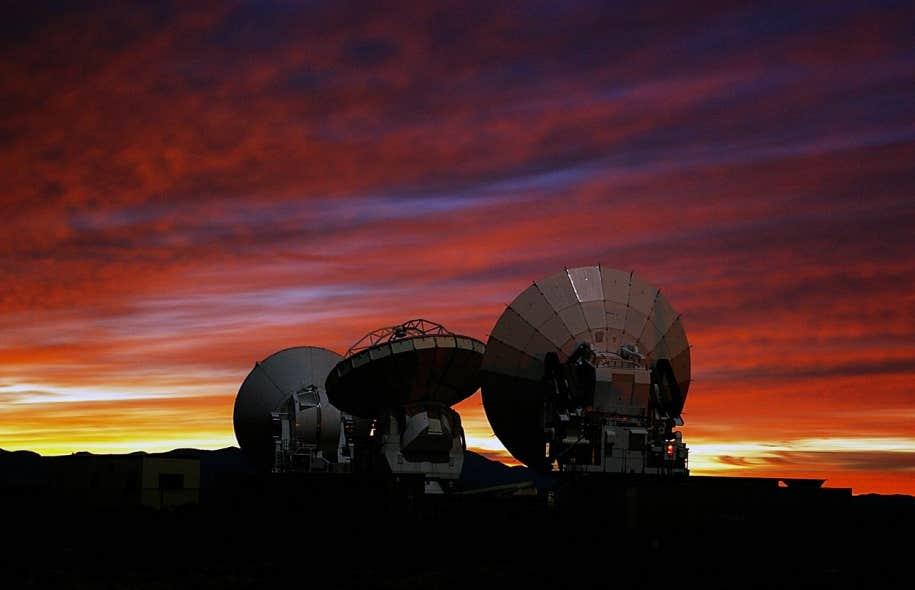 Prototypes d'antennes ALMA
