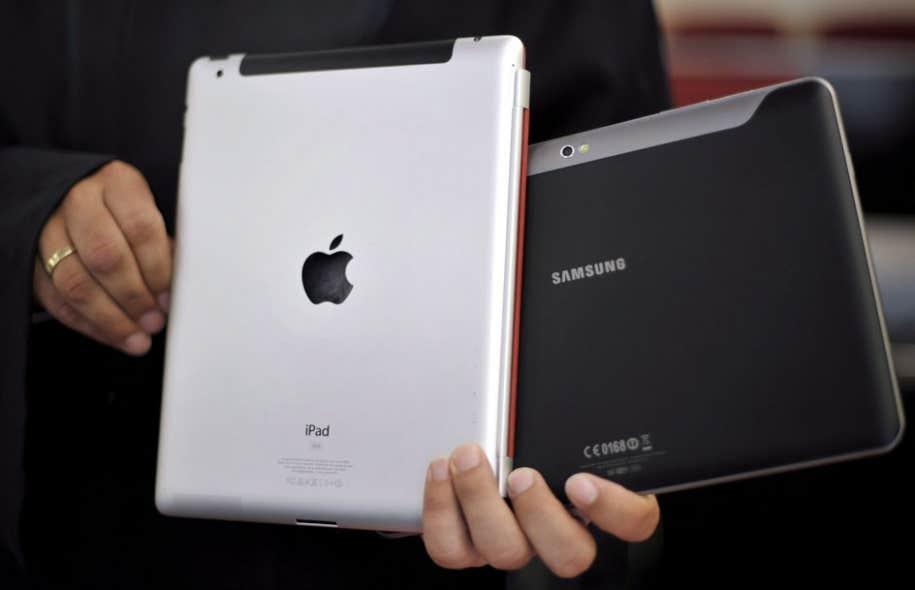 Selon les données recueillies, 27 % des foyers québécois possèdent une tablette numérique.
