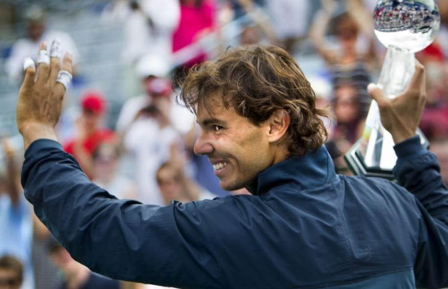 Rafael Nadal, triomphant