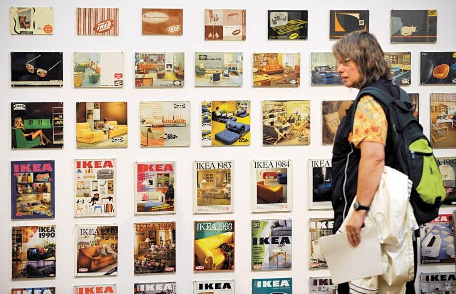 En 2009, un musée d'art contemporain de la capitale suédoise a tenu pour une première fois une exposition consacrée à l'histoire de la fondation d'IKEA et de son créateur, Ingvar Kamprad.
