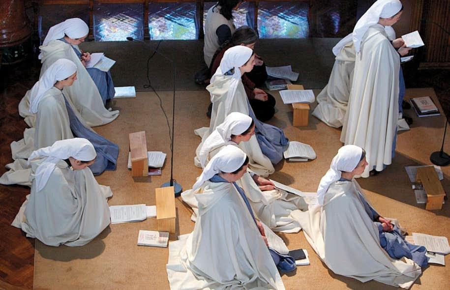 Chez les jeunes catholiques qui pensent intégrer un ordre religieux, on  observe un retour au