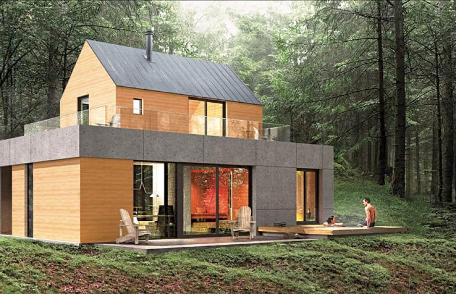 lac sup rieur nature et architecture sont l honneur mont tremblant le devoir. Black Bedroom Furniture Sets. Home Design Ideas