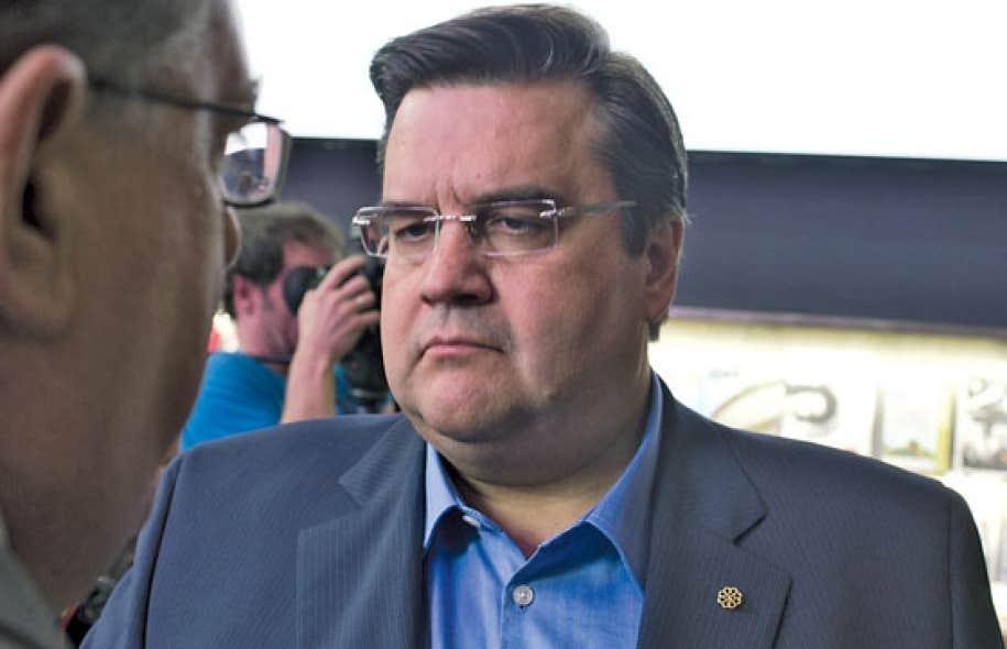 Alors secrétaire d'État, Denis Coderre aurait tenté d'empêcher une manifestation de la FTQ-Construction dans la circonscription de Jean Chrétien.