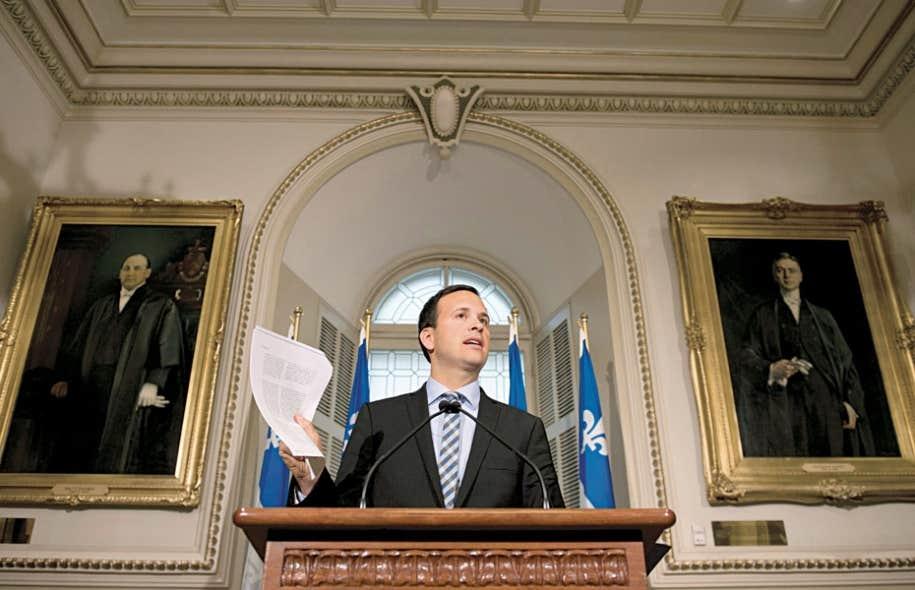Dès dimanche, le ministre Alexandre Cloutier dénonçait la volonté d'Ottawa de faire invalider une loi québécoise.