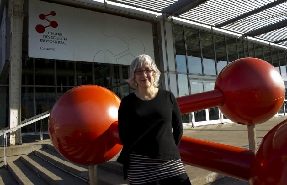 Carol Pauzé supervise les expositions au CSM.