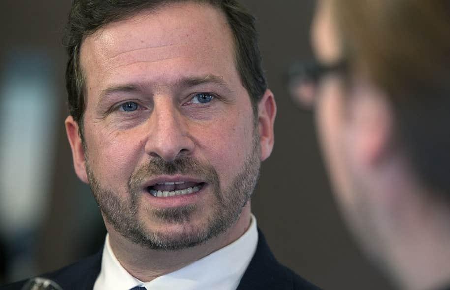 Le ministre de l'Environnement, Yves-François Blanchet